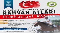 Bursa'da atlar Cumhuriyet için koşacak