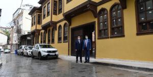 Osmangazi'da Şadırvanlı Han Yeniden Hayat Buldu