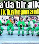 Bursa'da bir alkış da temizlik kahramanlarına!