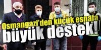 Bursa'da zabıta ekipleri pazar yerine maskesiz girişlere izin vermedi