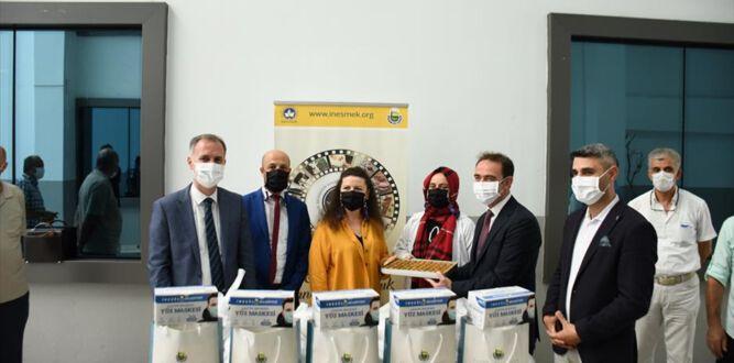 Öğrencilerin Maskeleri İnegöl Belediyesi'nden