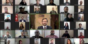 İletişim Başkanı Fahrettin Altun, Avrupa'daki Türk gençlerle buluştu