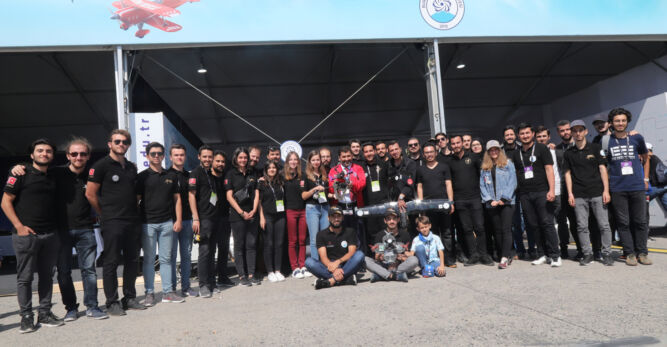 BTÜ'den 52 Öğrenci Takımı ile TEKNOFEST 2020 Çıkarması