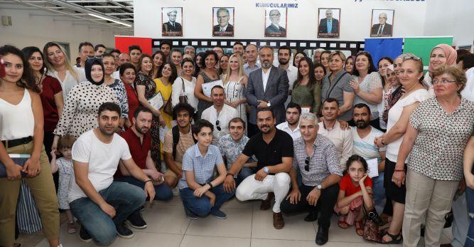 Bursa'da 'Orkestra'da sertifika heyecanı