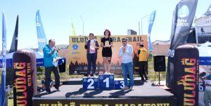 Uludağ'da dev maratona renkli final