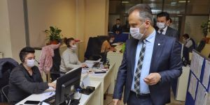 Aktaş: 1500 personelle Bursa'nın hizmetindeyiz
