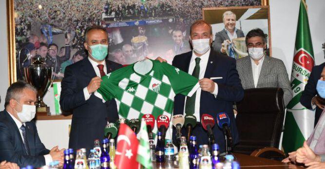 """Aktaş: """"Bursaspor hepimiz için değerli ve önemli"""""""