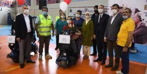 İnegöl'de 13 Engelli Vatandaş Hayallerine Kavuştu