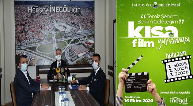 İnegöl'de Temizlik Konulu Kısa Film Yarışması Düzenleniyor