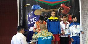 Orhan Mehmet'ten bronz madalya