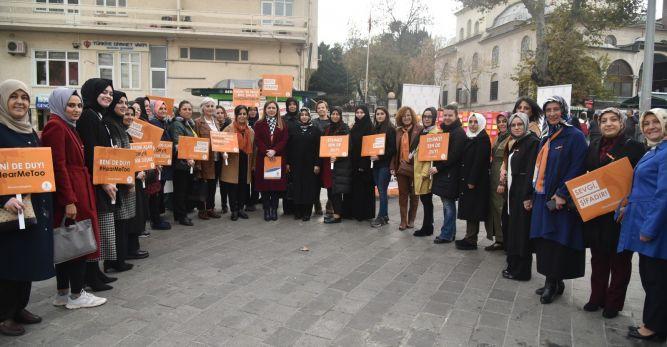 """Kapıcıoğlu: """"Her türlü şiddete karşı turuncu çizgimizi çekiyoruz"""""""