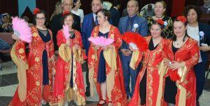 Bursa'da engellilere temsili kına
