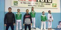 Mustafakemalpaşa Belediyesporlu karatecilerin başarısı sürüyor