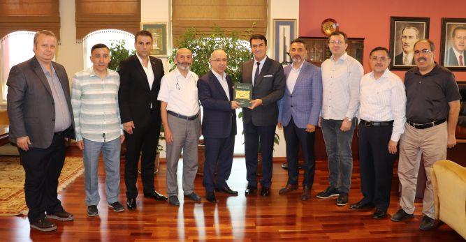 MÜSİAD'dan Başkan Dündar'a Tebrik Ziyareti