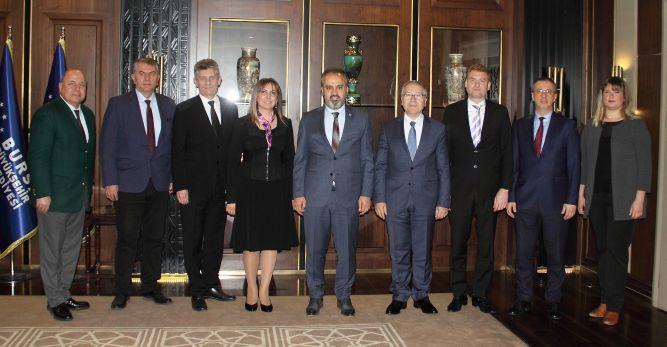 BUSİAD'dan Başkan Aktaş'a ziyaret