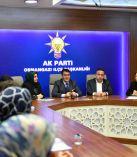Dündar'dan AK Parti Osmangazi Kadın Kollarına Teşekkür