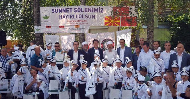 Makedonya'da Geleneksel Sünnet Şöleni