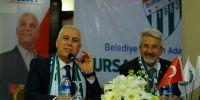 Bozbey: Bursaspor, Atatürk Stadı'nda yaşatılacak