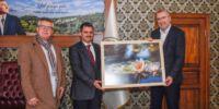 Başkan Özkan'dan Balıkesir temasları