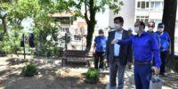 Osmangazi'de Yıkılan Tarihi İstinat Duvarı Yenilendi