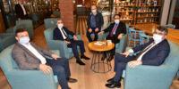 Başkan Yılmaz'dan Yeniden Kepenk Açan Esnafa Ziyaret