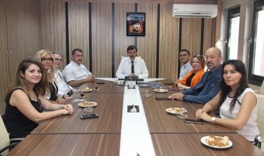 Dülger ve BİSİADA'dan 'Bilişim' toplantısı