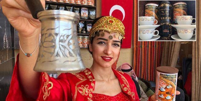 Kuveyt'teki 'Türk Obası'nda Türk Kahvesi