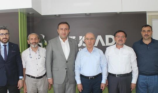 MÜSİAD Bursa Şubesi Ak Parti Osmangazi İlçe Başkanını Ağırladı…